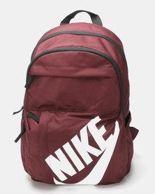 Nike Elemental Backpack Burgundy Black White 23bd61c8d441e