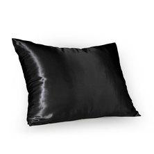 SassyChic Satin Pillow Case Black