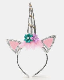 Bugsy Boo Unicorn Aliceband Multi