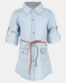 Bugsy Boo Tunic Denim