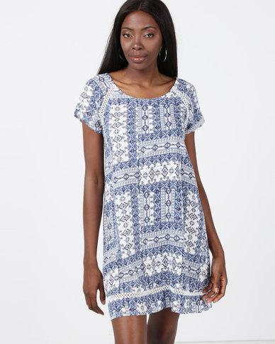 Rip Curl Ishka Sun Dress Blue
