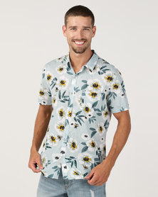 Chester St Escape Short Sleeve Shirt Multi
