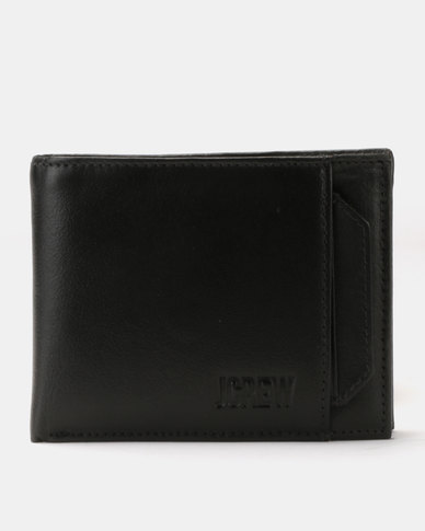 JCrew Wallet Removeable Cardholder Black