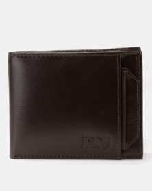 JCrew Wallet Removeable Card Holder Chocolate