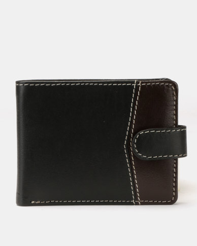 JCrew Colour Block Wallet Black