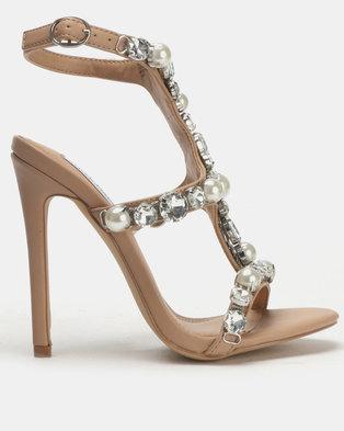 ae5b82aae3a Steve Madden Suzanna Heeled Sandals Blush Multi