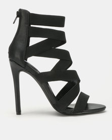 Steve Madden Strive Heels Black