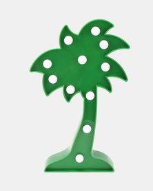 Royal T Palm Tree Night Light Green