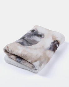 Royal T Llama Towel Multi