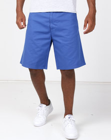 Lizzard Classic Mens Walkshorts Blue