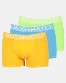 Crosshatch Glowbox Basic 3pk Bodyshort Mutli