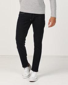 e898adae Crosshatch Balt Stretch Slim Fit Jeans Indigo Raw