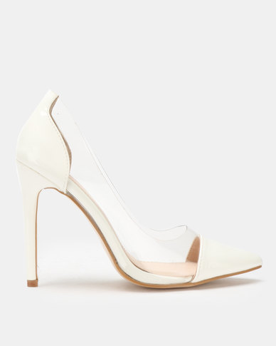 Public Desire Potion Courts White Patent