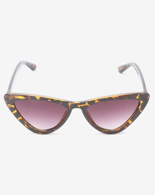 New Look Isabella Sunglasses Dark Brown