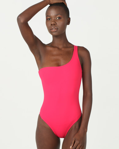 TracyB Swimwear One Shoulder Full Piece in Gelatina