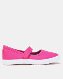Tomy Takkies Kids Mary Jane Shoes Pink