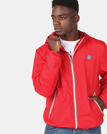 KG Lightweight Hooded Jacket Red