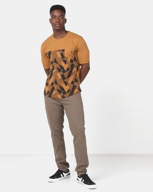 KG Fashion T-Shirt Bronze/Black