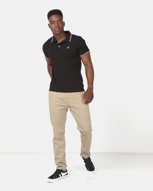 KG Narrow Stretch Chinos Khaki