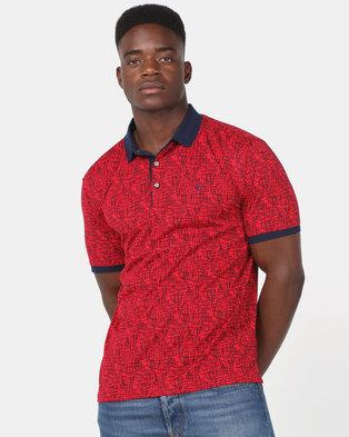 KG Fashion Golfer Red/Navy