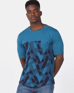 KG Fashion T-Shirt Teal/Navy