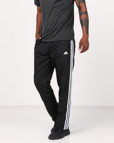 b2d98df3 adidas Performance Mens Woven 3 Stripe Pants Multi