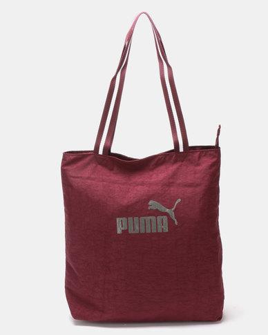Puma Sportstyle Core Womens Shopper Red  08f8c1ca17f01
