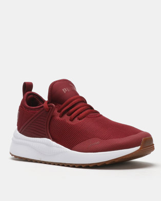 Puma Sportstyle Core Pacer Next Cage Sneakers Pomegranate a147b45d6d332
