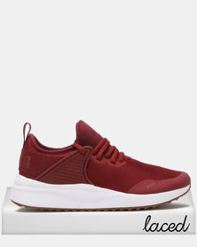 Puma Sportstyle Core Pacer Next Cage Sneakers Pomegranate