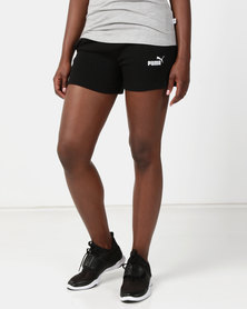 Puma Sportstyle Core ESS Sweat Shorts Black