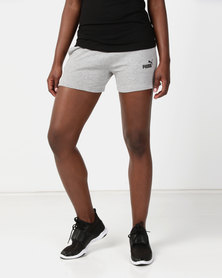 Puma Sportstyle Core ESS Sweat Shorts Grey