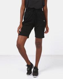 Puma Sportstyle Core ZA Womens FT Shorts Black
