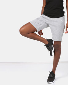 Puma Sportstyle Core ZA Womens FT Shorts Grey