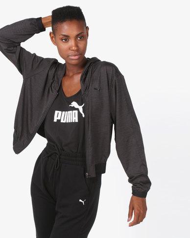 Puma Sportstyle Core Soft Sport Drapey FZ Hoodie Black