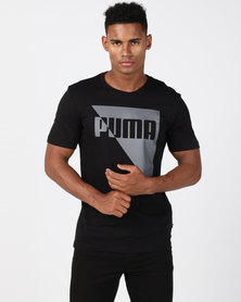 Puma Sportstyle Core Brand Graphic Tee Black