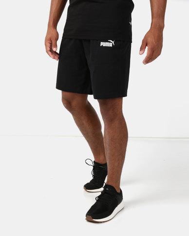 Puma Sportstyle Core Ess Jersey Shorts Black