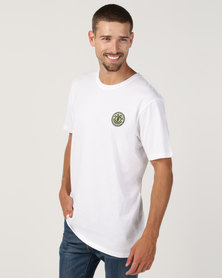 Element Seal Back Short Sleeve Tee White