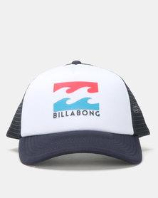 Billabong Boys Podium Trucker Cap Navy