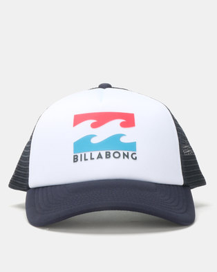 4bb6302f3a9 Billabong Boys Podium Trucker Cap Navy