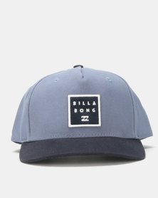 Billabong Stacked Snapback Blue
