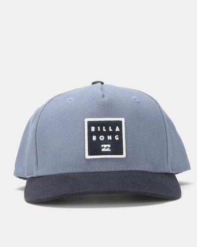 Billabong Stacked Snapback Blue