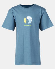 Billabong Hola Ola Short Sleeve Tee Blue