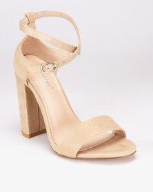 e66c88eb99e1 London Hub Fashion Block Heel Sandals Yellow