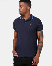 Kangol Carter Polo Navy