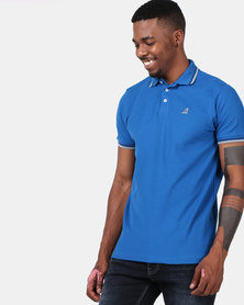 Kangol Carter Polo Bright Blue