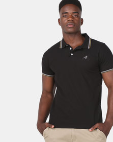 Kangol Carter Polo Black