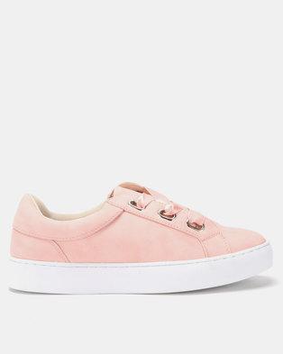 Utopia Eyelet Sneakers Pink