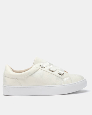Utopia Eyelet Sneakers White