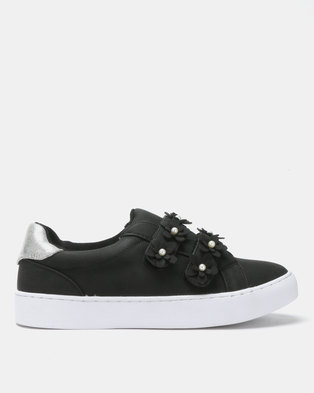 Utopia Flower Sneakers Black