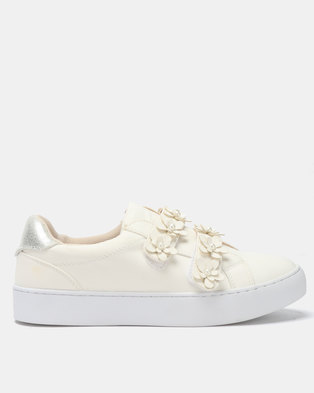 Utopia Flower Sneakers White